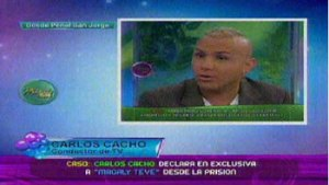 Magaly Medina, Carlos Cacho, Humberto Yzarra