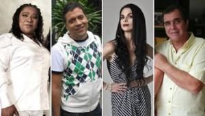Mathías Brivio, Bartola, Marcelo Oxenford, Fiorella Rodríguez, Martín Acosta González