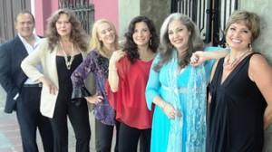 Elsa María Elejalde, Nancy Calisto, Isabel Iñigo, Leo Amaya