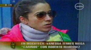 Vanessa Terkes, Roberto Martínez, Mónica Hoyos