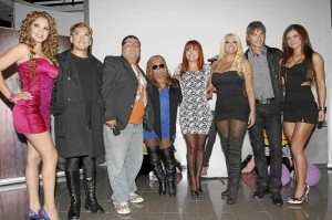 Magaly Medina, Jean Paul Strauss, Cindy Marino, Giannina Luján, Koky Belaunde, La Casa de Magaly