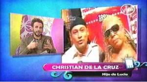 Christian de la Cruz, Lucia de la Cruz