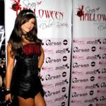 Gianina Luján, Sexy Halloween, Noche de brujas, Club La Hebraica