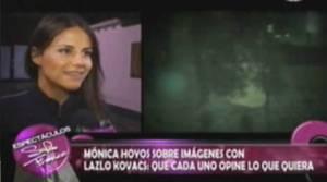 Mónica Hoyos, Espectáculos con Sofía Franco, Puchungo Yáñez, Laszlo Kovacs