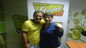 Miguel Barraza , Celine Aguirre , Cecilia Barraza , Radio Felicidad