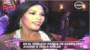 Karen Dejo, Carlos Abanto
