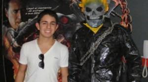 Joaquín Escobar , Nicolas Cage , Ghostrider