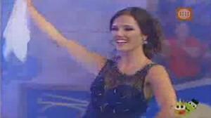Dos sapos y una reina , Campeón Nacional de Marinera del 2009 , Maju Mantilla , Piero Portuguez
