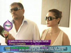 Génesis Tapia , Maltrato Físico , Magaly Medina