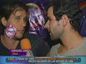Miguel Arce , Lima , Perú , Fiorella Cayo , Combate , Magaly TeVe