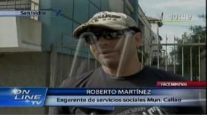 Gobierno Regional del Callao , Interceptaciones telefónicas , Chuponeo en el Callao , Chuponeo en el , Roberto Martínez
