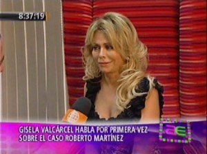 Gisela Valcárcel , Roberto Martínez, Operación Triunfo