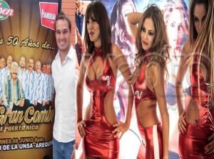 George Forsyth , Las Vengadoras , Tilsa Lozano , Maricris Rubio , Giselle Patrón , Joselito