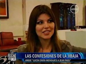 Angie Jibaja , Videos de Espectáculos , Jean Paul Santa María , Lucía Oxenford