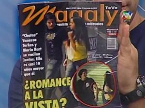 Mario Hart , Vanessa Terkes , Alejandra Baigorria , Roberto Martínez , Combate , Magaly TeVe , Videos de Espectáculos