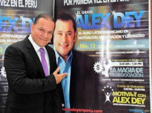 Mauricio Diez Canseco , Dr. Alex Dey , Centro de Convenciones María Angola