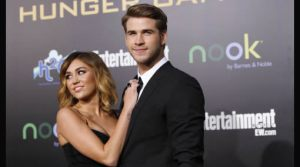 Miley Cyrus , Liam Hemsworth