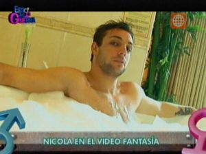 Nicola Porcella , Modelos , Esto es Guerra, Video Fantasía, América Televisión