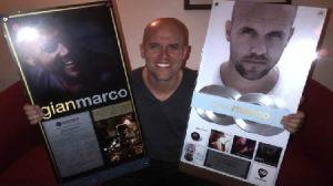 conciertos , farándula , disco de platino , Facebook , venta de discos , Gian Marco Zignago