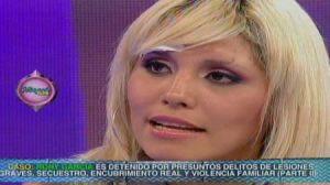 Urraca , bailarina , conductora de espectáculo , Lady Guillén , Rony Garcia, detenido, carcel, golpes