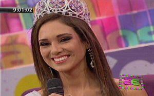 Televisión, Miss Perú Mundo 2013, Melissa Paredes, Elba Fahsbender, Televisión