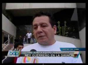 Ney Guerrero , Magaly Medina , Magaly TeVe, robo, Dirincri , Andy V