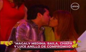 Magaly Medina , Alfredo Zambrano , Rodrigo Gonzáles , Videos de Espectáculos , Anillo de compromiso , Magaly TeVe , Amor Amor Amor