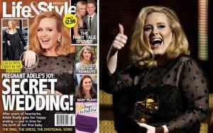 Música, Embarazos de famosos, Life & Style, Adele, Simon Konecki
