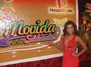 Claudia Portocarrero , La Movida de los Sábados , Videos de Espectáculos , Panamericana
