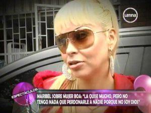 Maribel Velarde , El Valor de la Verdad , Mujer Boa , Frecuencia Latina , Videos de Espectáculos