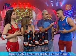Mathías Brivio , Johanna San Miguel , Yaco Eskenazi , Sully Saénz , Esto es Guerra , Videos de Espectáculos
