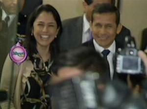 Nadine Heredia , Ollanta Humala , Magaly TeVe , Magaly Medina , Videos de Espectáculos