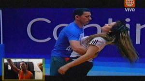 bailarina , El Gran show , Futbolista , Miguel Rebosio , Michelle Soifer