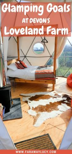 Located in the beautiful North of Devon, right by the coast, you will find England's coolest and quirkiest glamping site, Loveland Farm. Get back to nature in these beautiful sustainable eco pods. Click through to read more...