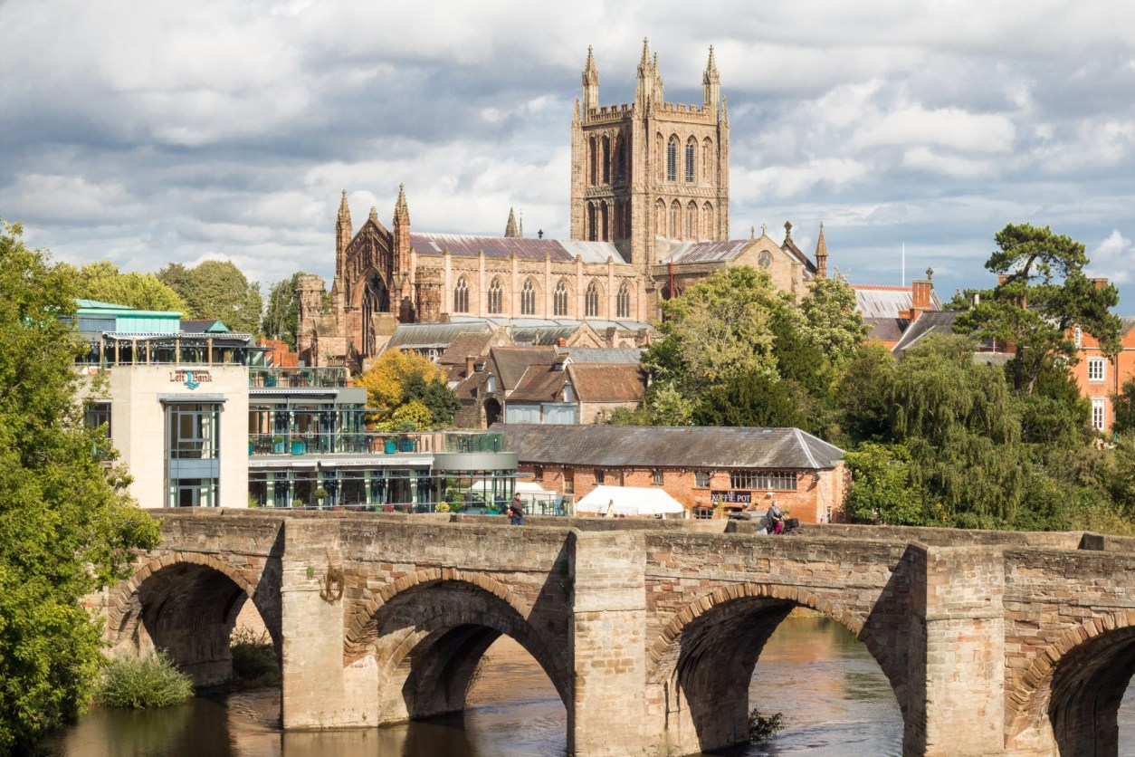 Hereford City Hereford Cathedral Bridge Restaurant Top 25 Things to Do in Herefordshire