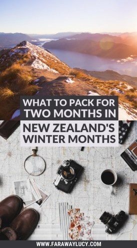 What to Pack for Two Months in New Zealand's Winter in June, July and August. The Ultimate New Zealand Packing List and Essentials: Everything You Need to Bring With You to Visit Queenstown, Auckland, Christchurch and Wellington. New Zealand Packing Guide. What You Should Wear in New Zealand's Winter. Click through to read more...