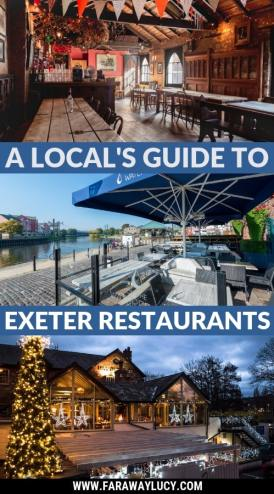 Exeter Restaurants. A Local's Guide to Exeter restaurants. Exeter, Devon, England, United Kingdom. Where to eat in Exeter. Where to drink in Exeter. Exeter independent restaurants. Best restaurants in Exeter. Places to eat in Exeter. New restaurants in Exeter. Eating out in Exeter. Exeter food. Pubs in Exeter. Exeter places to eat. Top restaurants in Exeter. Breakfast in Exeter. Lunch in Exeter. Dinner in Exeter. Exeter travel blog. Exeter travel guide. Click through to read more...