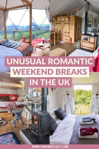 Unusual Romantic Weekend Breaks in the UK