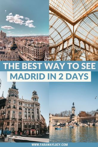 The Best Way to See Madrid in 2 Days [Itinerary]. Planning to spend 2 days in Madrid? You've come to the right place! This Madrid 2 day itinerary will show you the best way to spend a weekend in the Spanish capital, including all the most beautiful places to visit and yummy places to eat. Click through to read more...