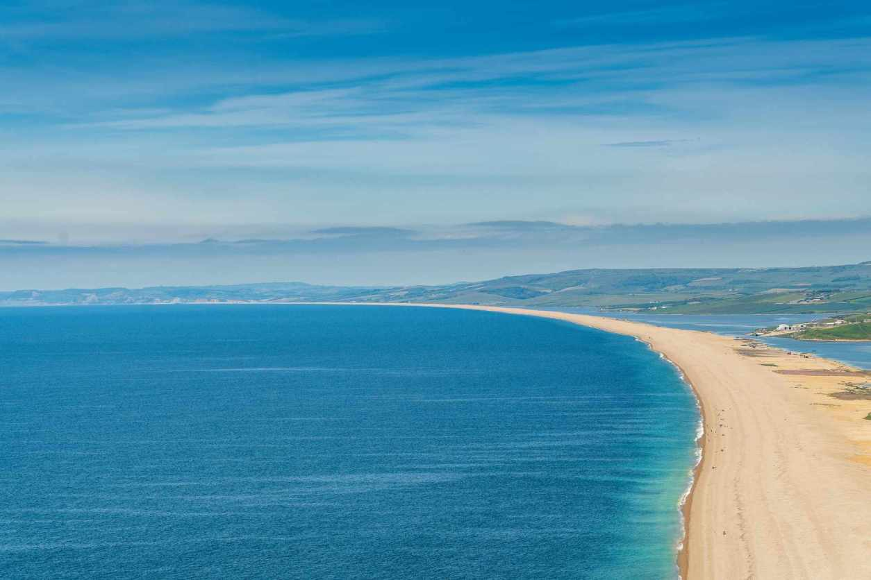 stretch-of-sand-amid-sea-chesil-beach