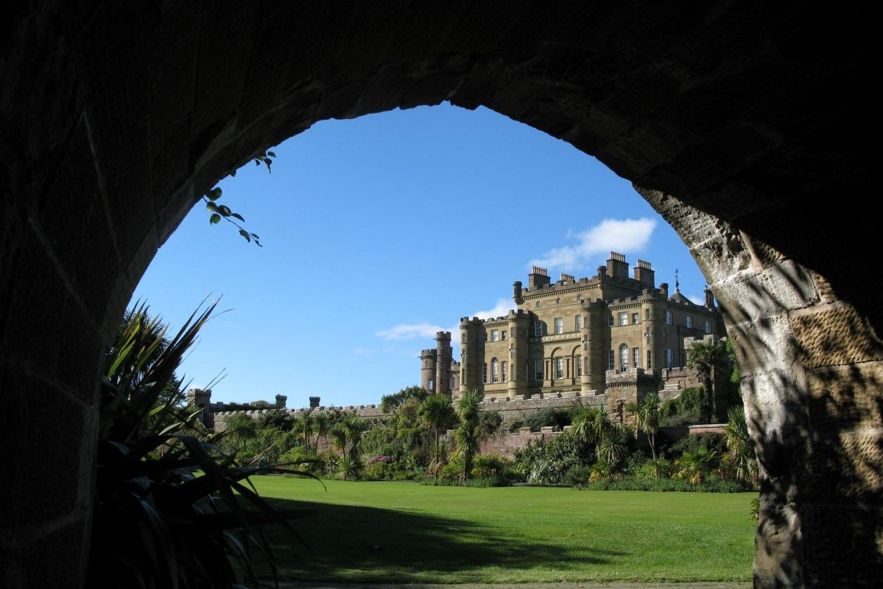 view-of-castle-culzean-and-country-park-through-archway