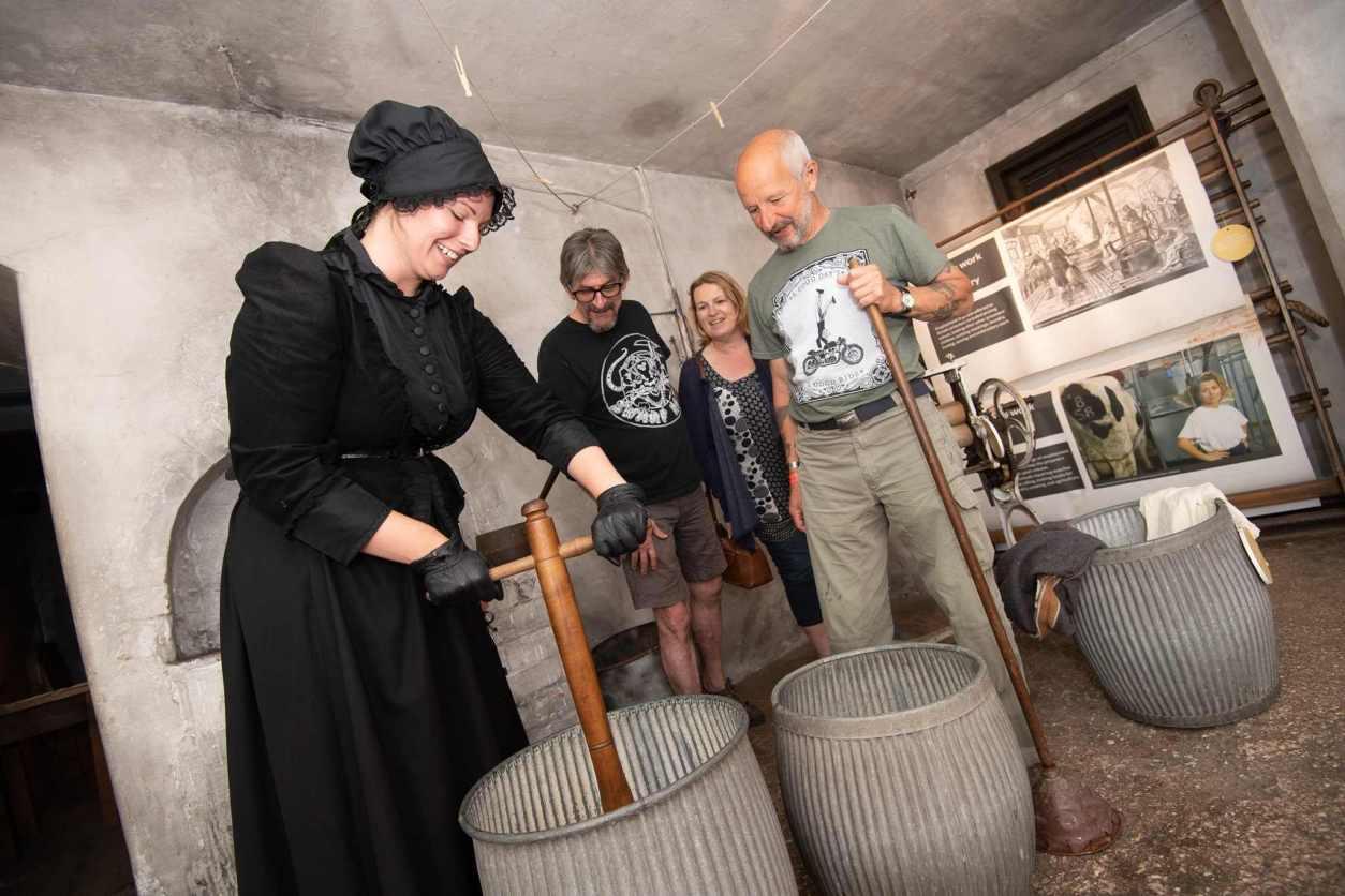 visitors-inside-national-justice-museum-nottingham