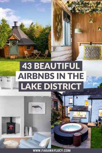 The 43 Most Beautiful Airbnbs in the Lake District. From cosy cabins and shepherds huts to beachfront chalets and geodomes, you'll love these Lake District airbnbs. Click through to read more...