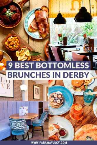 Bottomless Brunch Derby: 9 Best Brunches You Need to Try. From burgers and Caribbean food to traditional breakfasts and afternoon teas, here are the 9 best places to get bottomless brunch in Derby! Click through to read more...
