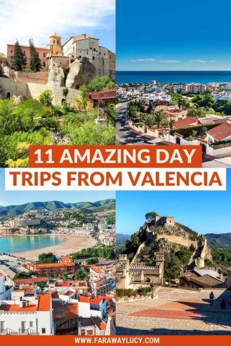 11 Amazing Day Trips From Valencia You Need to Go On. From beaches and cities to mountains and nature reserves, here are 11 great day trips from Valencia to go on and how to get there! Click through to read more...