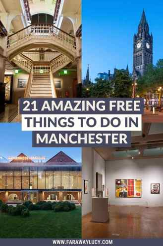 21 Amazing Free Things to Do in Manchester [2021]. From museums and art galleries to architectural hotspots and beautiful outdoor spaces, here are 21 amazing free things to do in Manchester! Click through to read more...