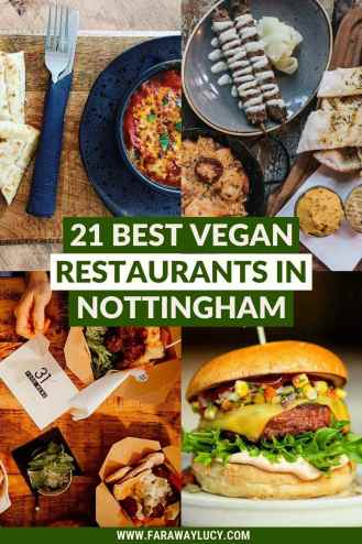 The 21 Best Vegan Restaurants in Nottingham You Need to Eat At. From vegan burgers and tacos to Spanish tapas and Indian street food, you'll love these vegan restaurants in Nottingham. Click through to read more...