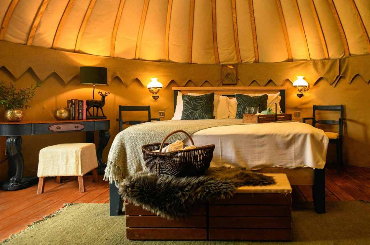 bedroom-inside-yurt-at-the-avon-yurts-glamping-wicklow