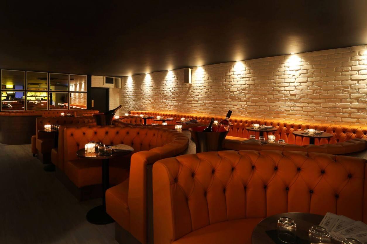 orange-booths-at-ex-directory-bar