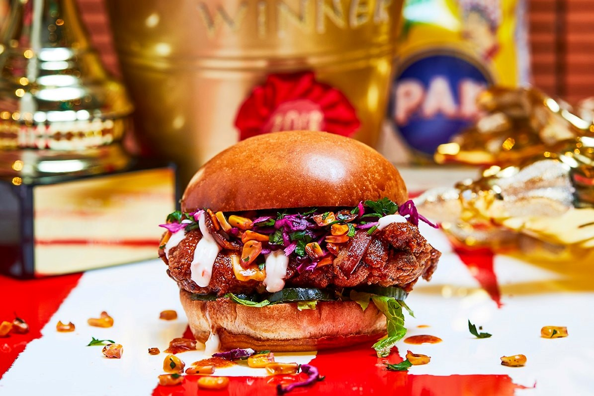 vegetarian-burger-at-honest-burgers-best-vegan-restaurants-brighton